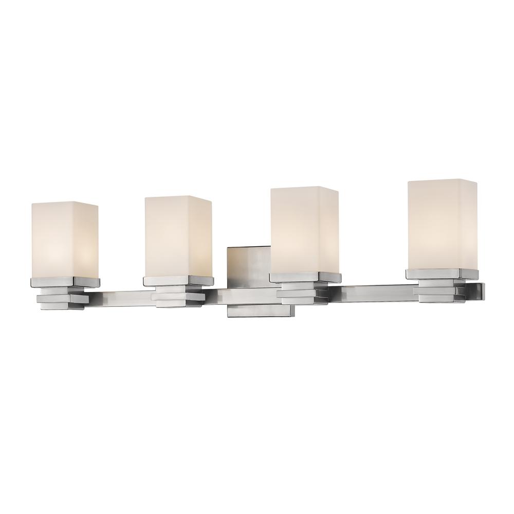 4 Light Vanity Light Brushed Nickel