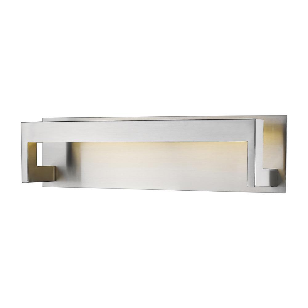 1 Light Vanity, Frosted, 1925-20V-BN-LED. The main picture.