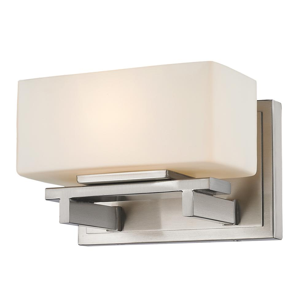 1 Light Wall Sconce, 3029-1S-BN-LED. Picture 1