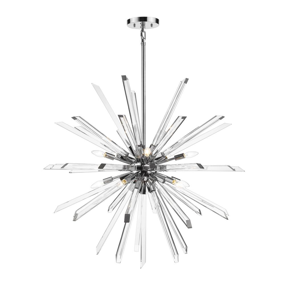 10 Light Chandelier. Picture 1