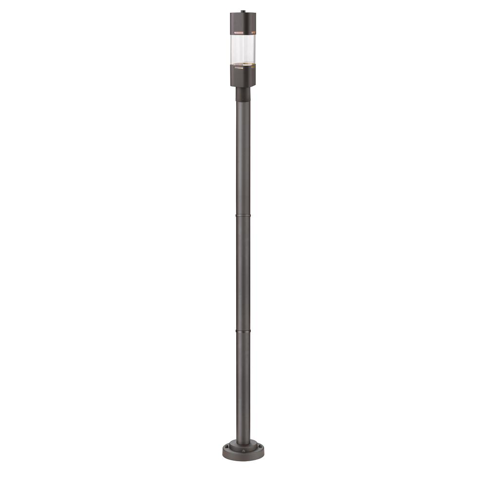 1 Light Outdoor Post Mounted Fixture. Picture 1