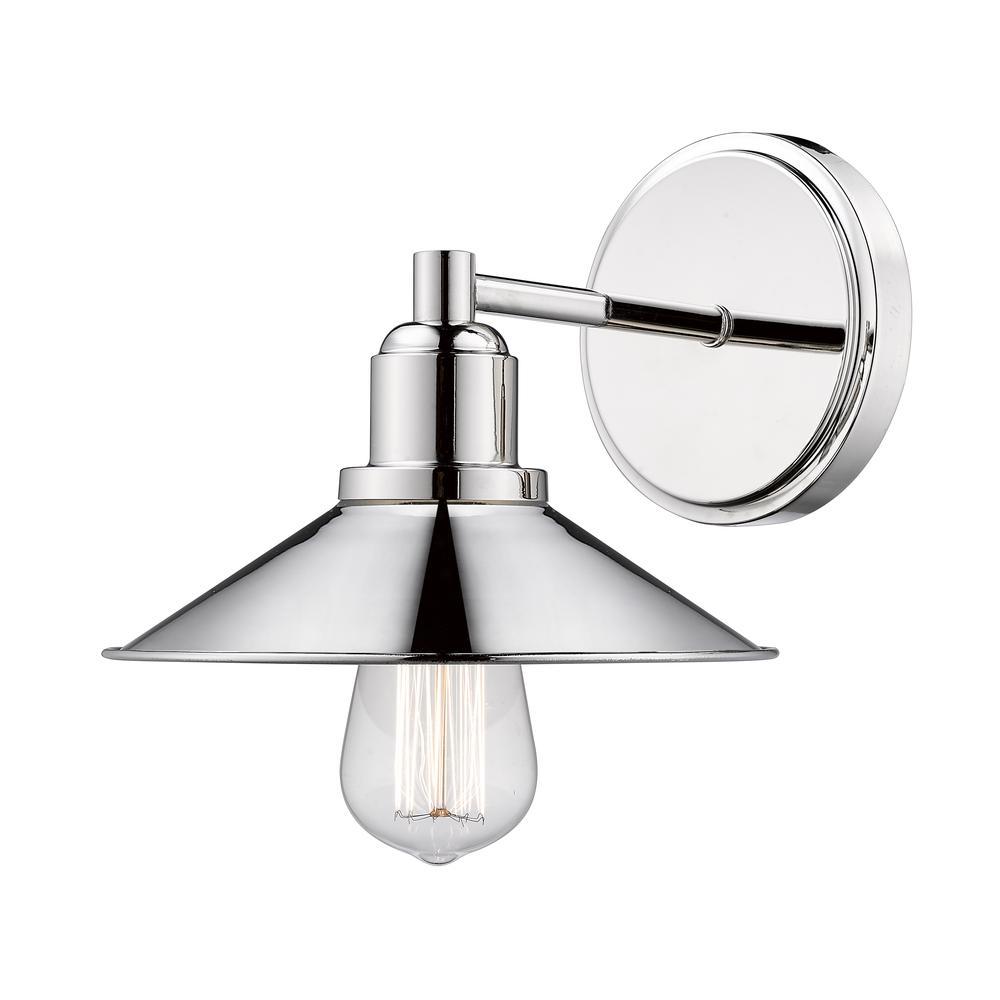 1 Light Vanity, 613-1V-PN. Picture 1