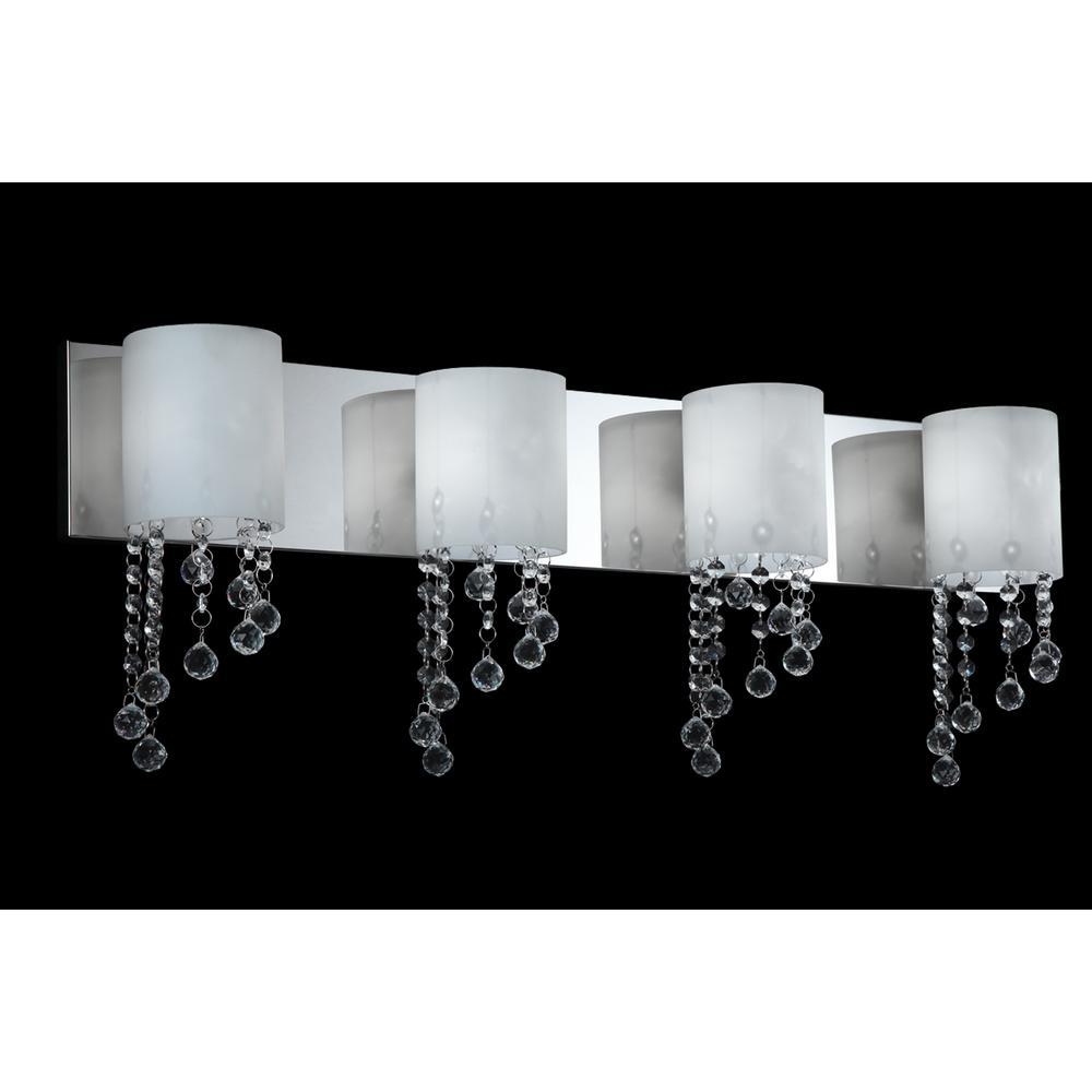 4 Light Vanity, 871CH-4V-LED. Picture 1