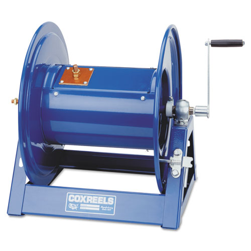 Large-Capacity Hand-Crank Welding-Cable Reel. Picture 2