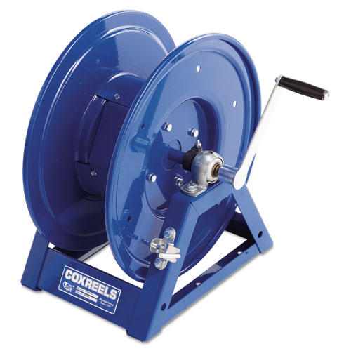 Large-Capacity Hand-Crank Welding-Cable Reel. Picture 1