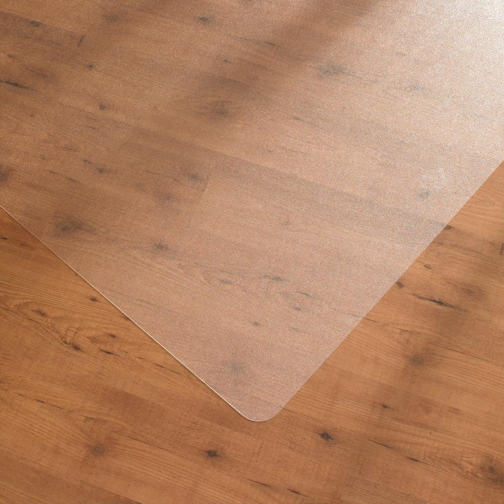 """Cleartex UnoMat, Anti-Slip Chair Mat, For Polished Hard Floors / Very Low Pile Carpets / Carpet Tiles, Rectangular Size 48"""" x 53"""". Picture 4"""
