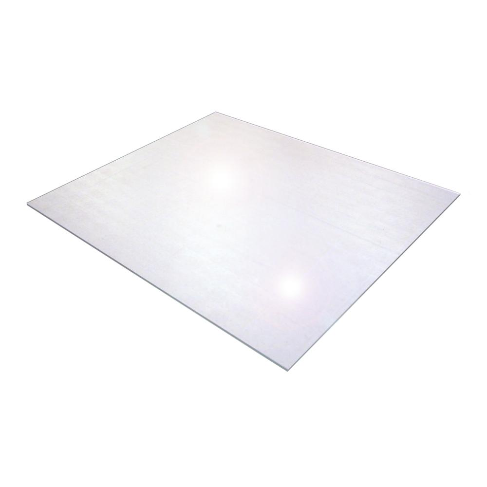 "Cleartex XXL General Purpose Office Mat, For Hard Floor, Strong Polycarbonate, Large Rectangular Size 71"" x 79"". Picture 1"