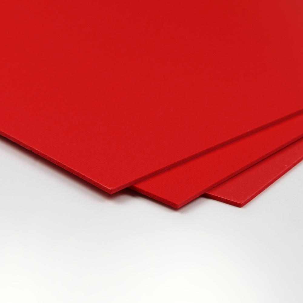 """CraftTex, Bubbalux Ultimate Creative Craft Board, Heart Red, Single Sheet, Large Size 20"""" x 30"""". Picture 1"""