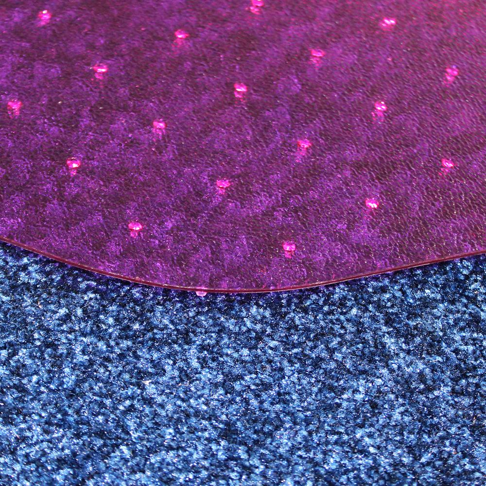 "9Mat Pink Floor Protector for Carpet - 38"" x 39"". Picture 4"