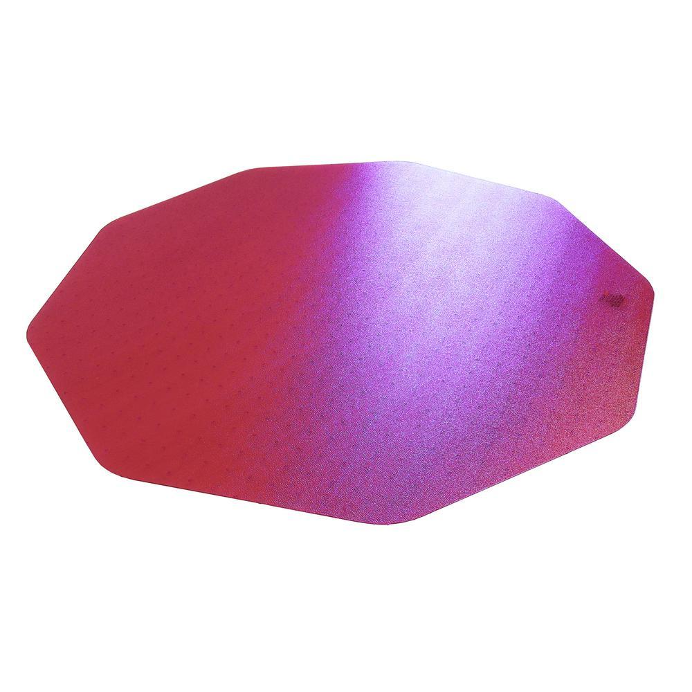 """9Mat Pink Floor Protector for Hard Floor - 38"""" x 39"""". Picture 2"""