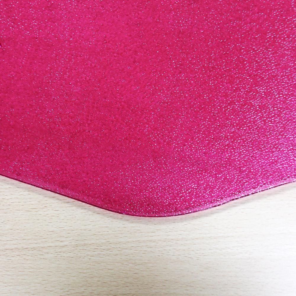 """9Mat Pink Floor Protector for Hard Floor - 38"""" x 39"""". Picture 3"""