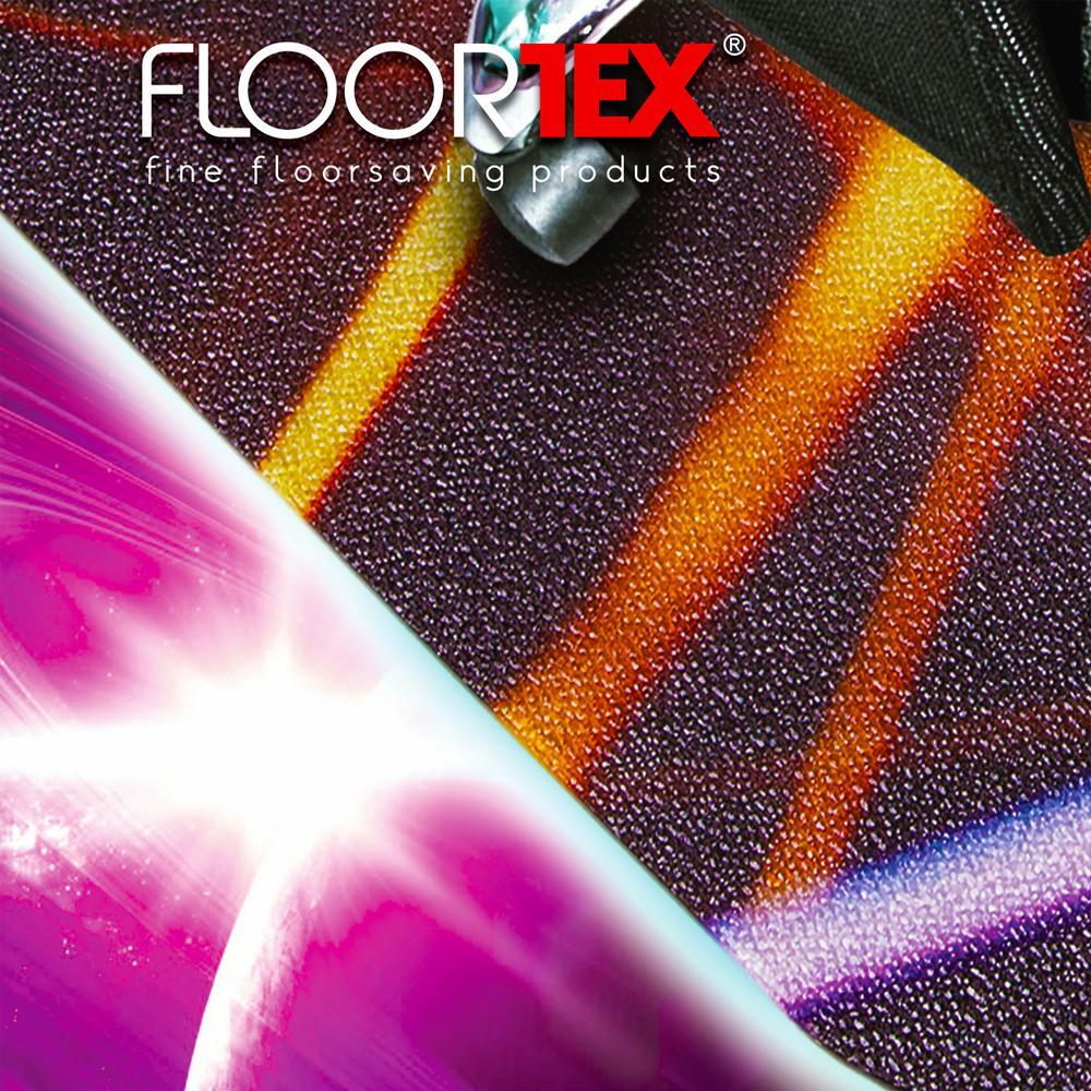 "Colortex Photo Ultimat Rectangular General Purpose Mat In Light Swirl Design for Hard Floors (36"" x 48""). Picture 3"