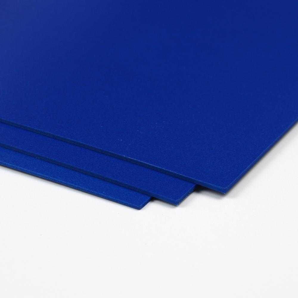 CraftTex, Bubbalux Ultimate Creative Craft Board, Marine Blue, Pack of 3 Letter Size Sheets. Picture 1