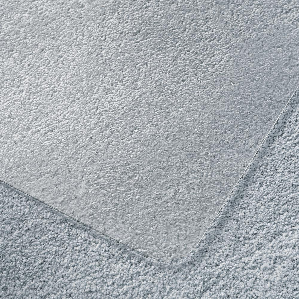 "Clear Floor Mat for Carpets - 35"" x 47"". Picture 3"