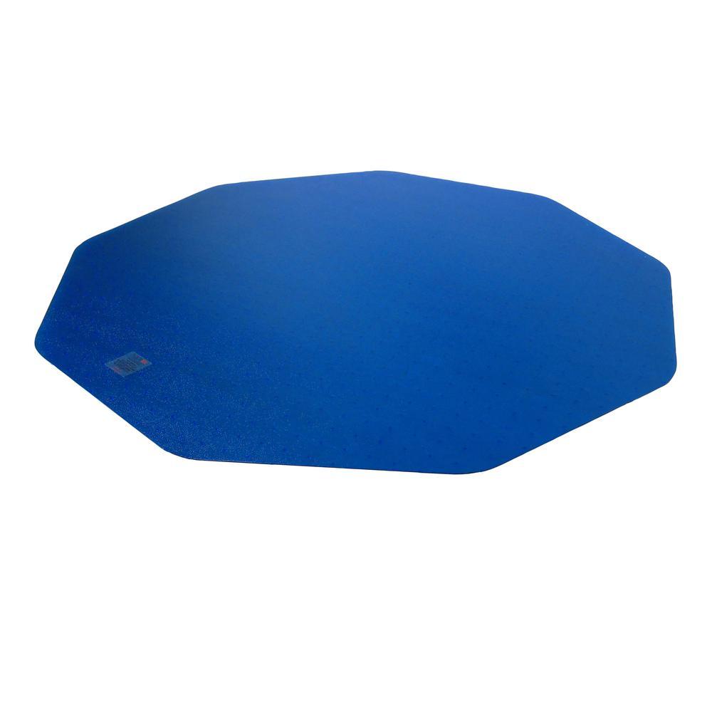 "9Mat Blue Floor Protector for Hard Floor - 38"" x 39"". Picture 2"