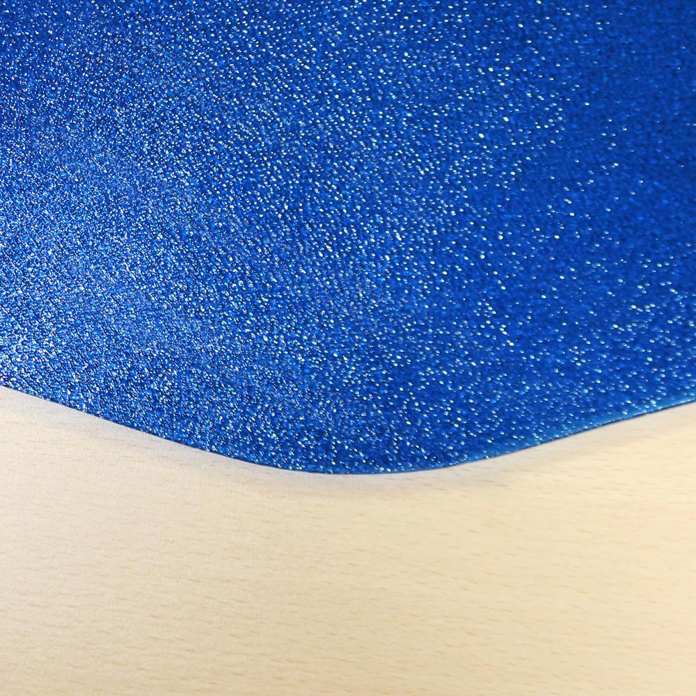 "9Mat Blue Floor Protector for Hard Floor - 38"" x 39"". Picture 3"