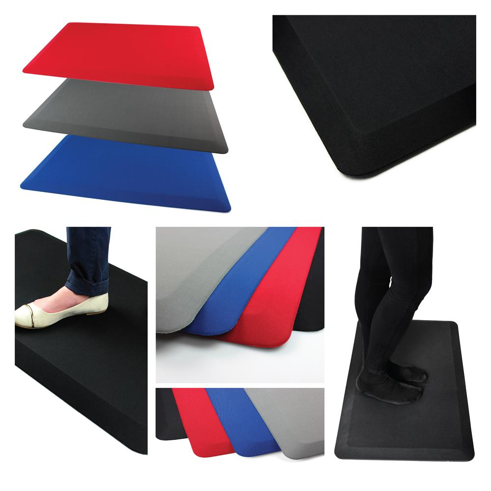 "Blue Standing Comfort Mat - 16"" x 24"". Picture 8"
