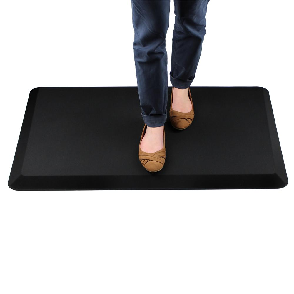 """Red Standing Comfort Mat - 16"""" x 24"""". Picture 2"""