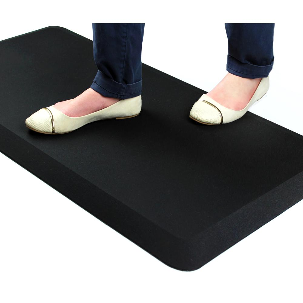 """Red Standing Comfort Mat - 16"""" x 24"""". Picture 5"""
