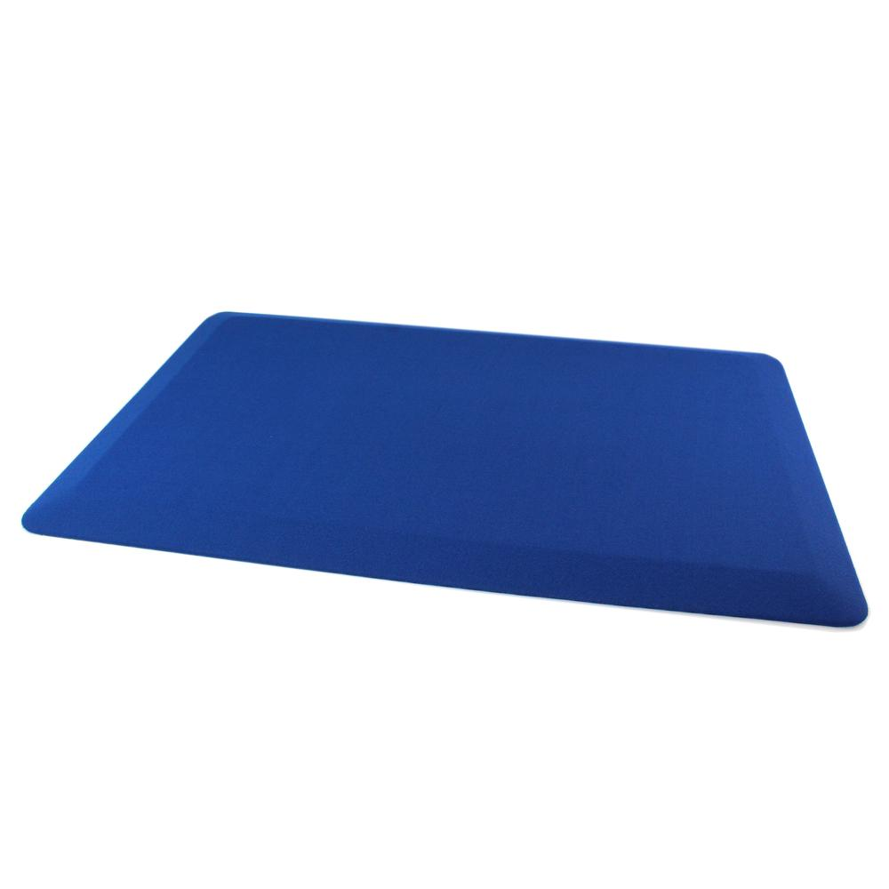"Blue Standing Comfort Mat - 20"" x 32"". The main picture."