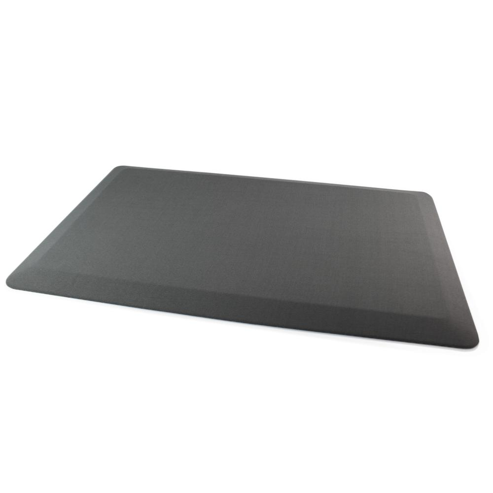 "Gray Standing Comfort Mat - 20"" x 32"". The main picture."