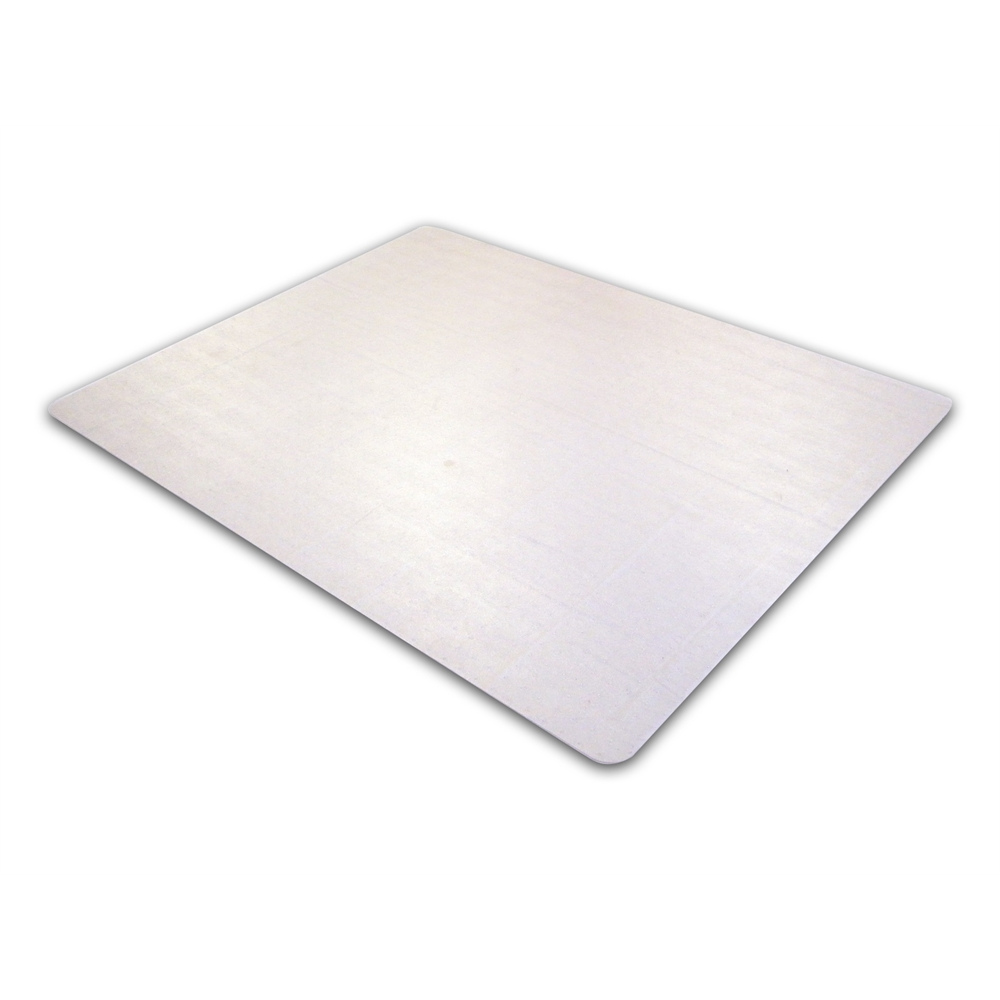 """EcoTex Enhanced Polymer Rectangular Chairmat for Standard Pile Carpets 3/8"""" or less (48"""" X 60""""). Picture 1"""