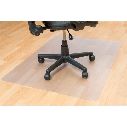"EcoTex Revolutionmat, Recycled Chair Mat, For Hard Floors, 100% Recycled, Rectangular, Size 48"" x 51"". Picture 3"