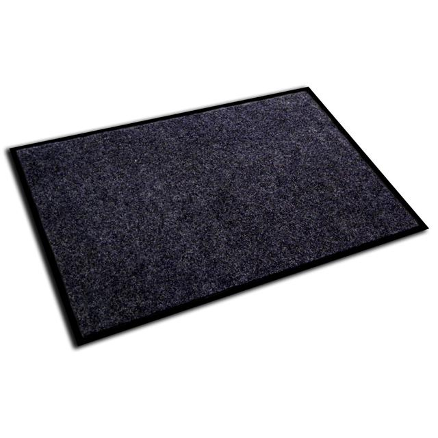 "Doortex Plushmat, Indoor Entrance Mat, Charcoal Gray, Size 24"" x 36"". Picture 1"