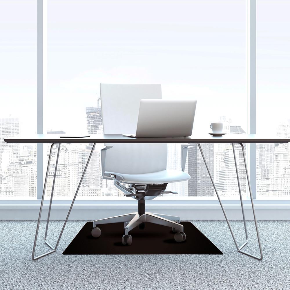 "Vinyl Rectangular Chair Mat for Carpets - 29.5"" x 47"". Picture 2"