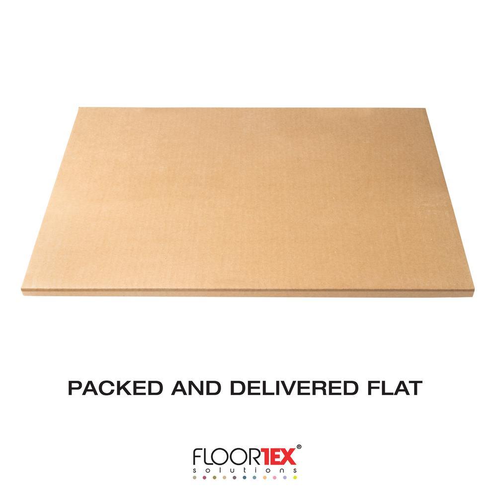 "Vinyl Rectangular Chair Mat for Carpets - 29.5"" x 47"". Picture 12"