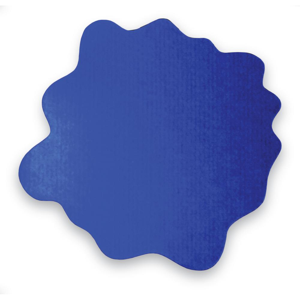 """Multi-Purpose High Chair / Play Mat. Gripper back for use on carpets. Caribbean Blue. 40"""" x 40"""" (max). Picture 5"""