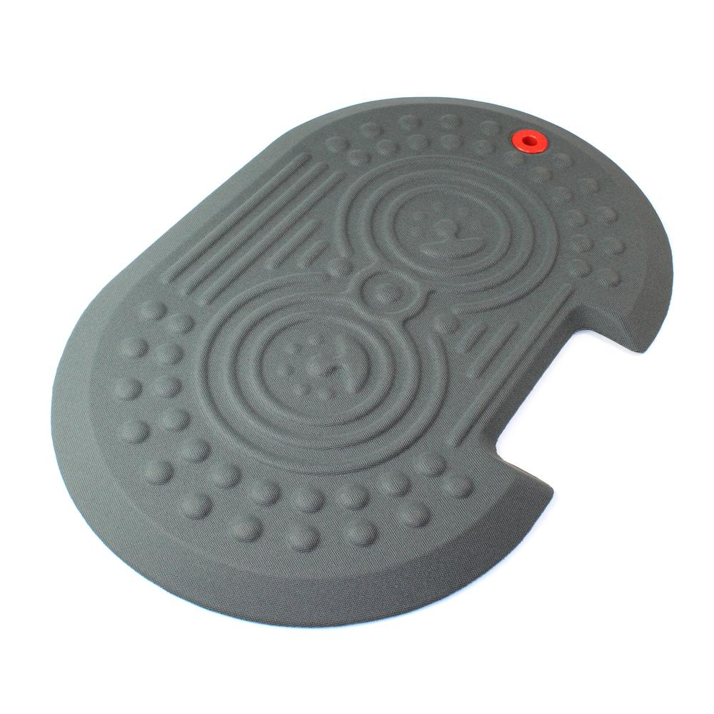"""2000X Gray Active Anti-Fatigue Mat - 16"""" x 24"""". Picture 2"""