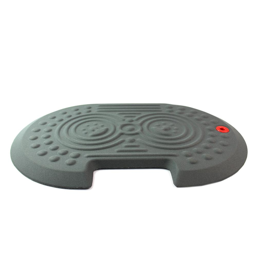 """2000X Gray Active Anti-Fatigue Mat - 16"""" x 24"""". Picture 4"""