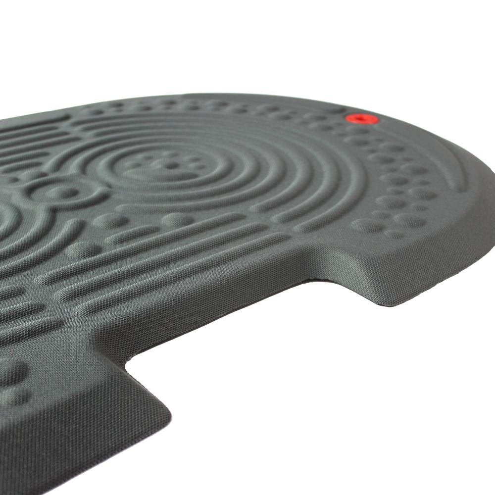 """2000X Gray Active Anti-Fatigue Mat - 20"""" x 32"""". Picture 3"""