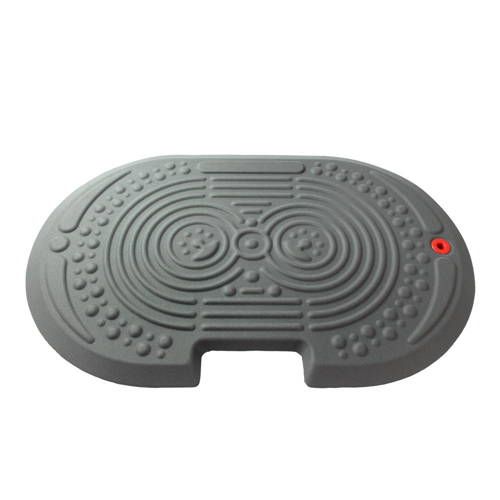 """2000X Gray Active Anti-Fatigue Mat - 20"""" x 32"""". Picture 1"""