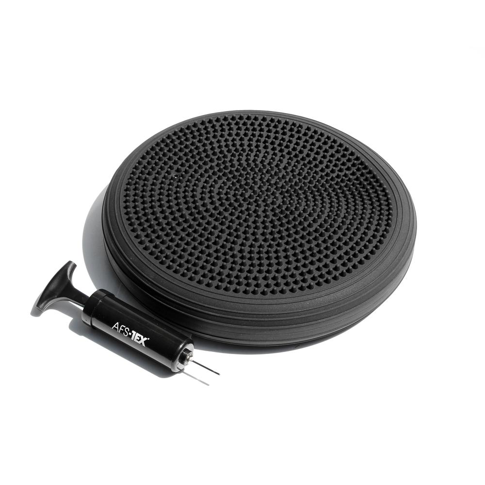 AFS-TEX® Active Anti-Microbial Heavy Duty Home Exercise Wobble Cushion Balance Disc & Pump. Picture 1