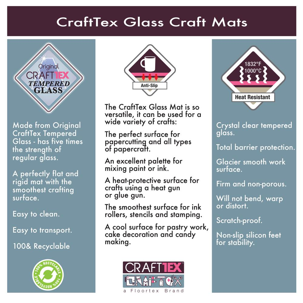 """Glass Craft Mat Protector - 19"""" x 24"""". Picture 8"""