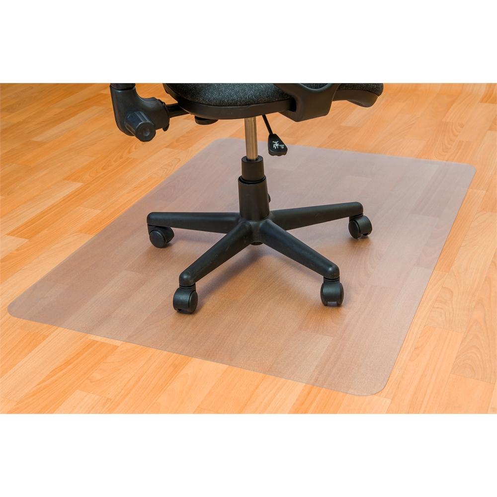 "Ecotex Enhanced Polymer Rectangular Chair mat for Hard Floor Anti-Slip (36"" X 48"" ). Picture 2"