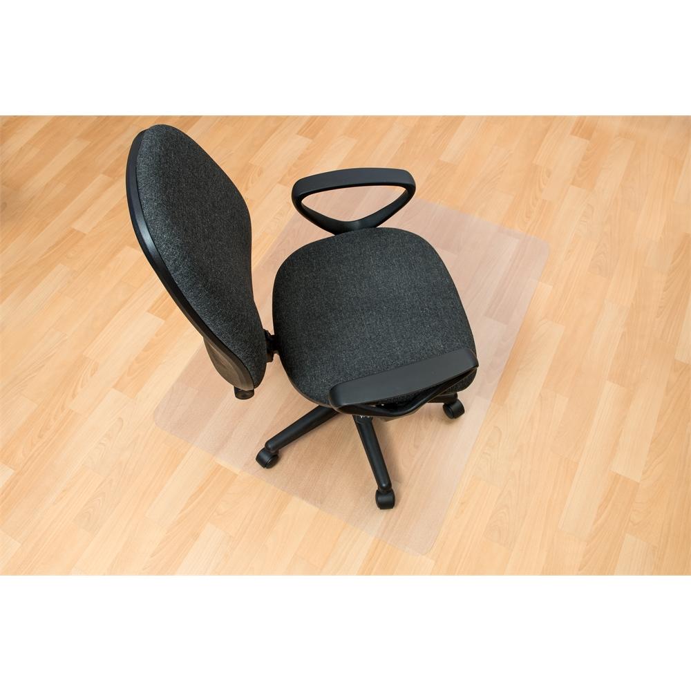 "Ecotex Enhanced Polymer Rectangular Chair mat for Hard Floor Anti-Slip (36"" X 48"" ). Picture 3"