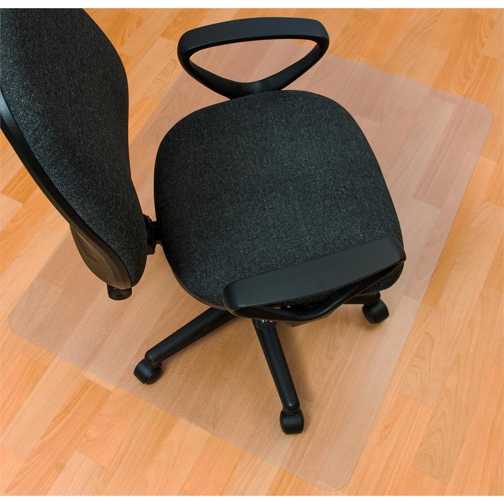 "Ecotex Enhanced Polymer Rectangular Chair mat for Hard Floor Anti-Slip (36"" X 48"" ). Picture 4"