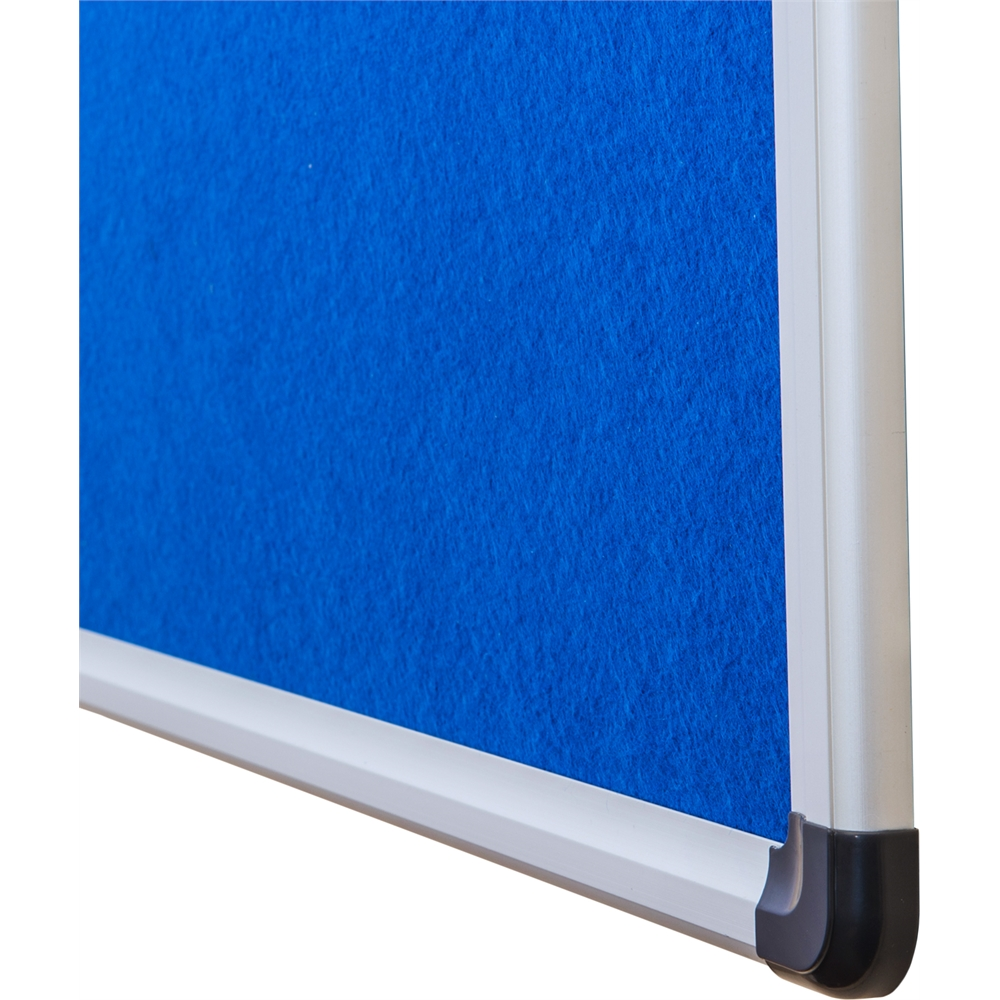"""Viztex Fabric Bulletin Board with an Aluminium frame (24""""x18""""). Picture 2"""