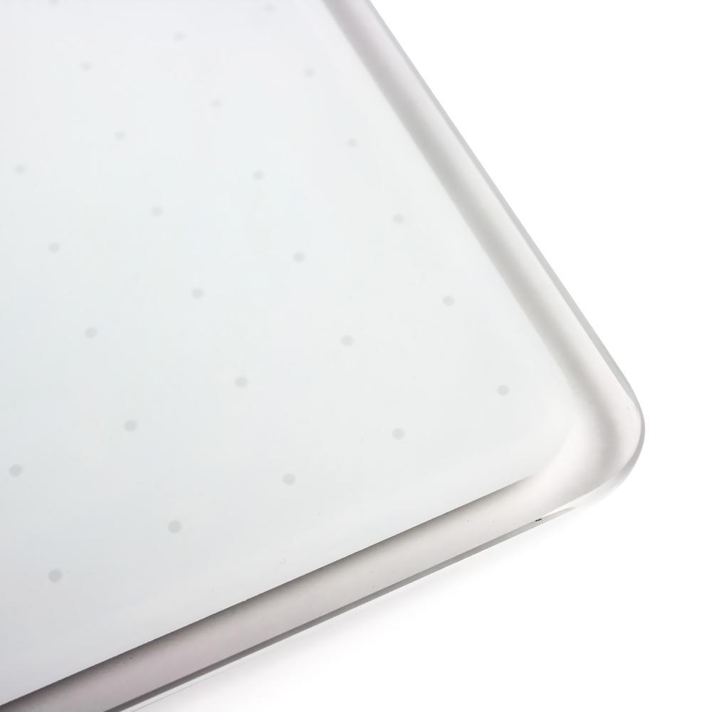 """Black Multi-Purpose Grid Glass Dry Erase Board 14"""" x 14"""". Picture 4"""