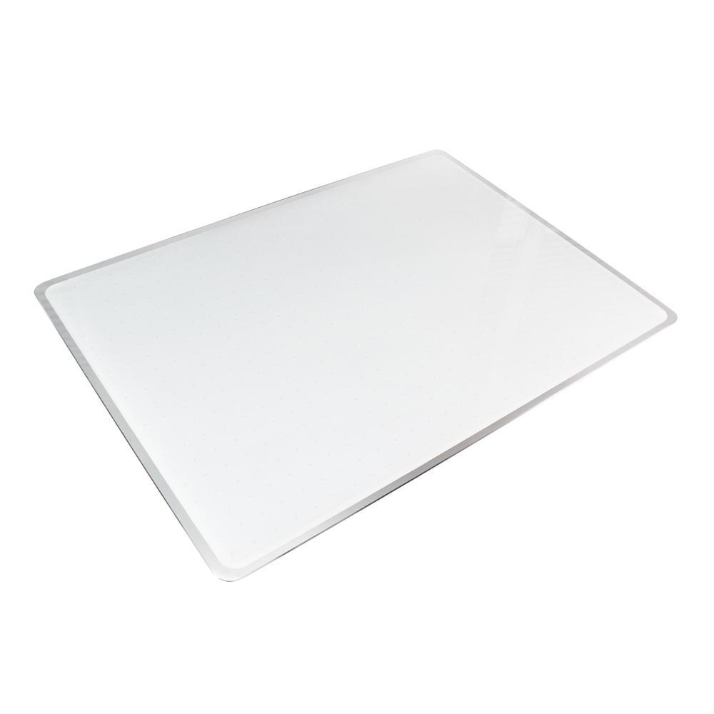 """White Multi-Purpose Grid Glass Dry Erase Board 17"""" x 23"""". Picture 2"""