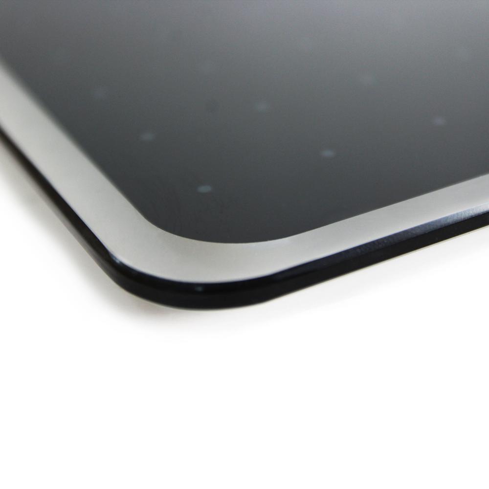 """Black Multi-Purpose Grid Glass Dry Erase Board 30"""" x 40"""". Picture 5"""