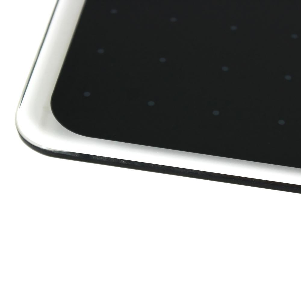 """Black Multi-Purpose Grid Glass Dry Erase Board 30"""" x 40"""". Picture 6"""