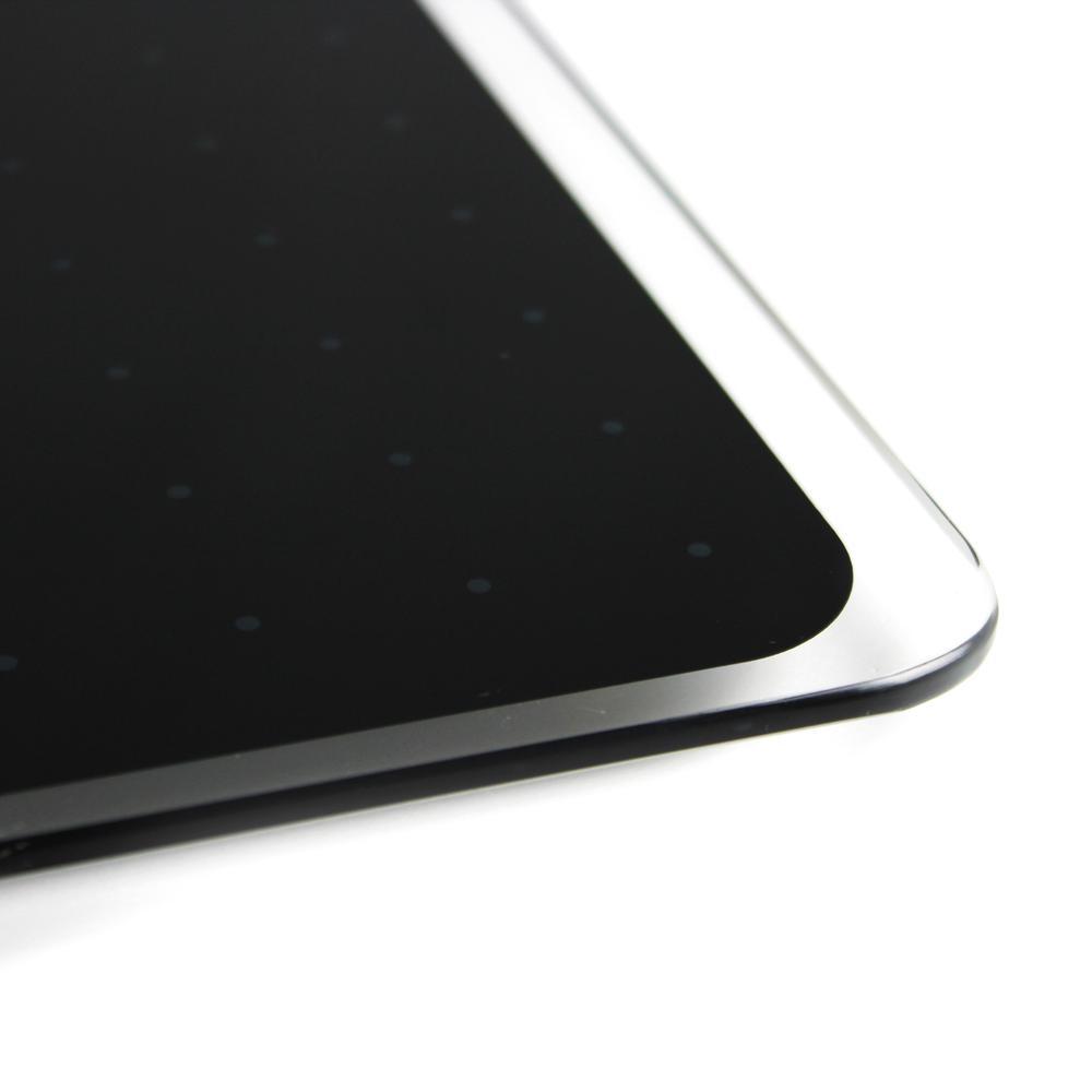 """Black Multi-Purpose Grid Glass Dry Erase Board 30"""" x 40"""". Picture 8"""