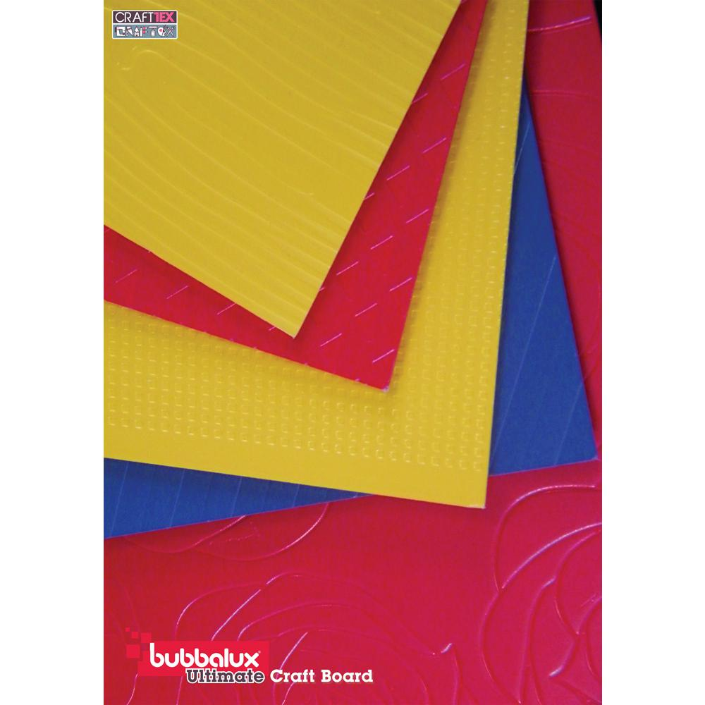 CraftTex, Bubbalux Ultimate Creative Craft Board, Marine Blue, Pack of 3 Letter Size Sheets. Picture 11