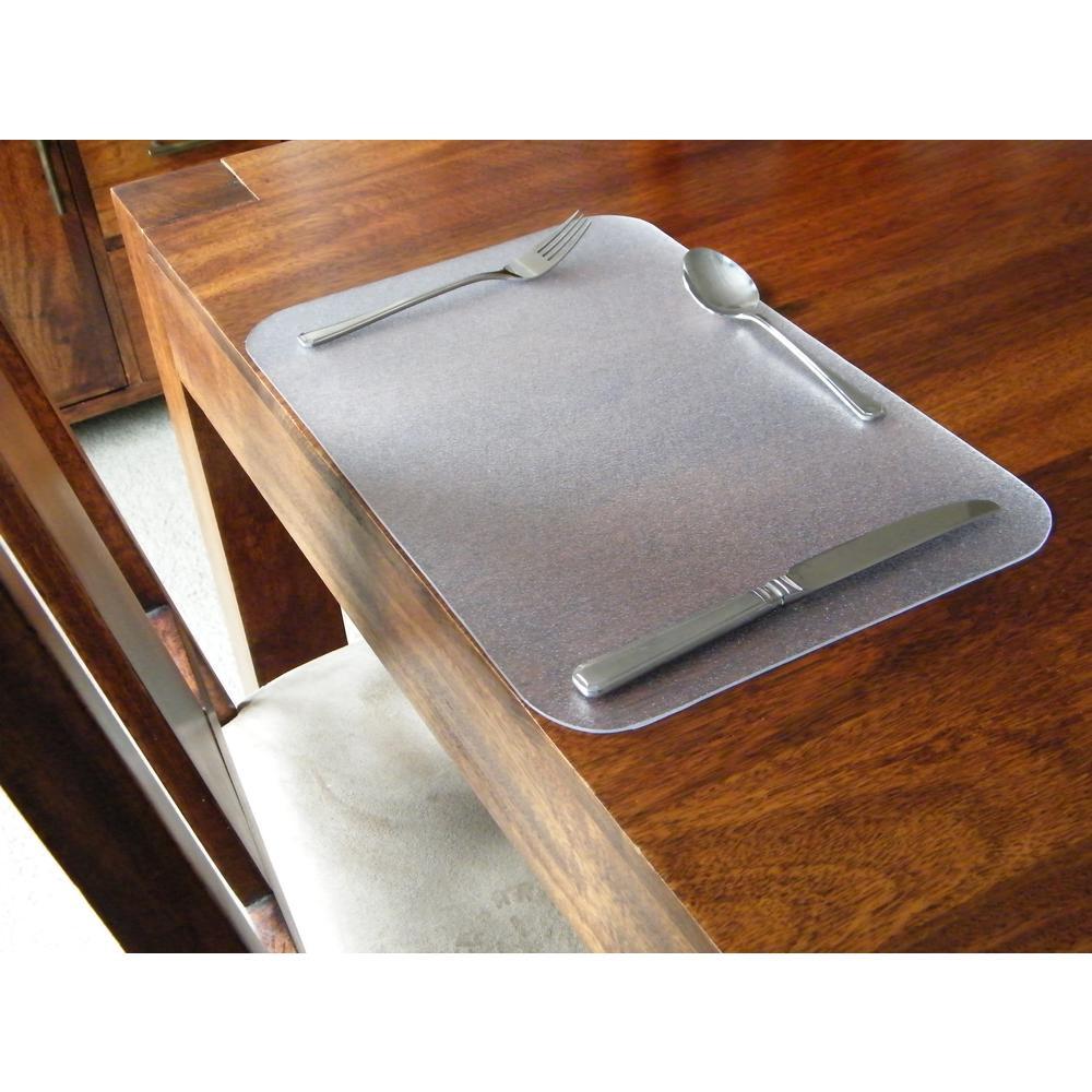 """Desktex, Pack of 4 Anti-Slip Desk Mats, Rectangular , Size 12"""" x 18"""". Picture 2"""
