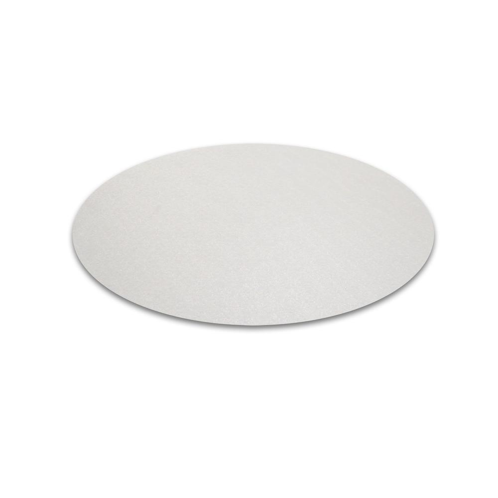 "Desktex, Pack of 2 Circular Desk Mats, Anti Slip, Size - 12"" Diameter. Picture 3"
