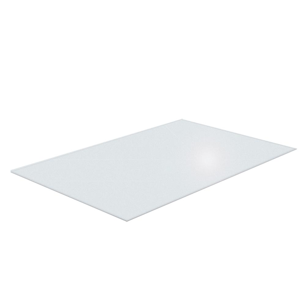 """Cleartex XXL General Office Mat, Rectangular, Strong Polycarbonate, For Carpets, Size 48"""" x 118"""". Picture 6"""